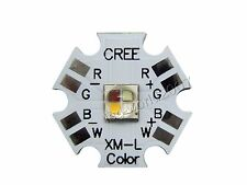 5x 12W Cree XLamp XML XM-L RGBW RGB Warm White Emitter LED on 20mm PCB Board