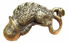 Brass Amulet Phallic Phallus Paladkik Love Charm Amulet Statue 1 Free Gift