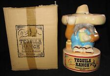 Tequila Ranch Authentic Mexican Cuisine Ceramic Cup Mug with Straw Opening NIB