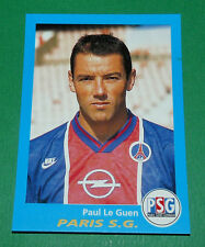 N°286 PAUL LE GUEN PARIS SAINT-GERMAIN PSG PANINI FOOT 96  FOOTBALL 1995-1996