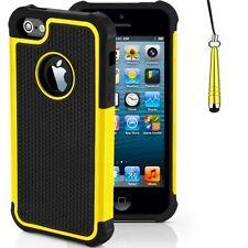 Housses et coques anti-chocs jaunes en silicone, caoutchouc, gel pour téléphone mobile et assistant personnel (PDA)