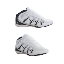 New UFC Ultimate Training MMA Sparring Lightweight Shoes White/Silver  Size 5