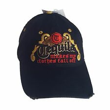 Tequila Makes My Clothes Fall Off Black BaseBall Cap Hat