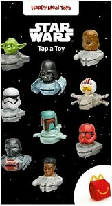 2021 DISNEY STAR WARS McDonald's Happy Meal Full Set Of 9 On Hand Read To Ship