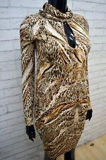 BYBLOS Tubino Corto Slim Vestito Donna Taglia 40 Abito Dress Women's Slim NUOVO