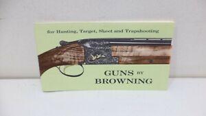 BROWNING SPORTING ARMS 1970S GUN CATALOG Pocket ORIGINAL Manual Booklet Book