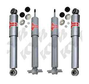 KYB 4 MONOTUBE UPGRADE SHOCKS CORVETTE 1984 1985 1986 1987 84 85 86 87