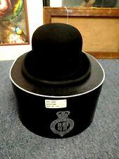 Cavallo Christys of London Bowler Fur Felt Hat Black Box, Instructions,Very Good