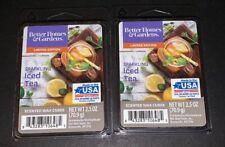 2  BETTER HOMES & GARDENS Wax Melts SPARKLING ICE TEA 2.5 Oz Each
