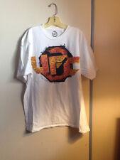 UFC T-shirt XL White Black Orange Mma