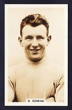 John Scerri INTERNATIONAL FOOTBALLERS 1935 #18 Cowan MANCHESTER CITY *Exc Cond*