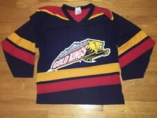 Colorado Gold Kings Hockey Jersey YouthM Boys Kids WCHL Minor League Vintage