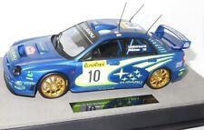 1/18 SUBARU IMPREZA S7 WRC Winner Rallye Monte Carlo 2002 T. Makinen