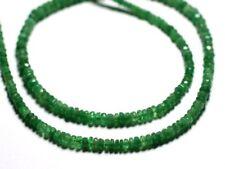 10pc - Perles de Pierre - Grenat Tsavorite Rondelles Facettées 3x2mm - 455855009