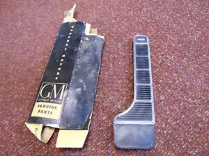 NOS PONTIAC 1961 1962 DELUXE GAS PEDAL WITH STAINLESS TRIM ALL FULL SIZE