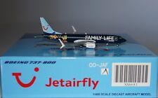 JC Wings XX4681 Boeing 737-8K5(WL) Jetairfly OO-JAF in 1:400 scale