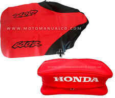 SEAT COVER & Rear Fender Bags For HONDA XR 600R, XR600R XR600 1998 Free Shipping