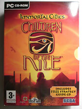 Immortal Cities CHILDREN OF THE NILE PC Cd Rom