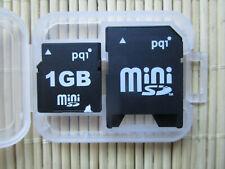 1GB mini- SD-Karte - mit SD-Adapter - in Plastik-Box - NEU/NOS