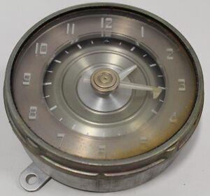 Jaeger Watch Co Automobile Car Dash Clock Frazer 1940s FRE 492 I.G.Y. Auroral