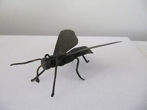 Vintage Wrought Iron Hand Made Metal Insect Fly