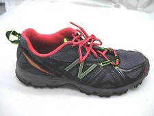 New Balance 8B UK6 610v2 gray black trail running womens ladies sneakers shoes