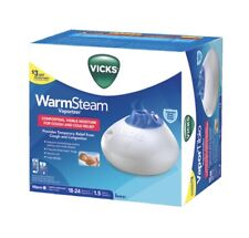 Vicks Warm Steam Vaporizer Nightlight 1.5 Gallon Cough and Cold Relief