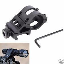 "1"" Offset Ring 45° Degree Side Picatinny Laser/Flashlight/Gun/Scope Mount Holder"