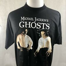 Vintage 90s Michael Jackson Ghosts T-Shirt Deadstock XL on Euro Tag Authentic