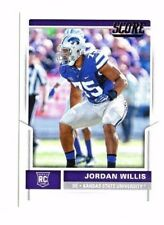 Jordan Willis , (Rookie) 2017 Panini Score, #364 , Football Card !!