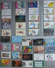 Tarjetas Telefónicas a Año 1999 A-01-39/1999 Completo Mint Menta ** 39St