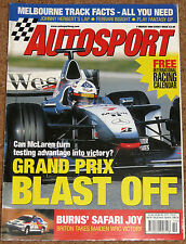 Autosport 5/3/98* TYRRELL 026 END of an ERA - ROSS BRAWN on FERRARI - GREG MOORE