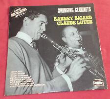 BARNEY BIGARD  CLAUDE LUTER LP FR SWINGING CLARINETS