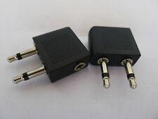 Universal Aeroplane Airline Plane Seat Earphone Headphone Plug Adapter Connector