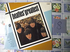The Beatles ODEON  GREATEST  CRYSTAL Stereo 038 CRY 04 207  D Vinyl old Platte