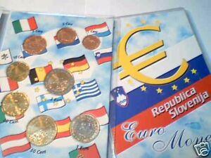 2014 SLOVENIA 8 monete 3,88 EURO fdc slovenie slovenja
