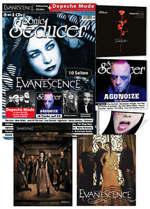 LIMITED Sonic Seducer 05-2021 +exkl. Evanescence Sticker+Poster Nr.29+37 + 2CDs