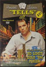 "Howard Lederer - ""Tells"" All ( Winning Secrets for No-Limit Hold Em Poker! )"