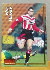 Autographed Merlin Ultimate Collectors Card - Neil Heaney Southampton Football
