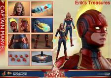 Hot Toys Captain Marvel Regular 1/6 Figure MMS521 NEW SEALED BROWN SHIPPER!!