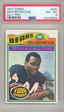 1977 TOPPS WALTER PAYTON CARD #360 PSA 8 (494)