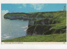 Flamborough Head & Lighthouse 1975 Postcard 576a