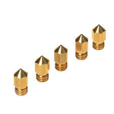 HICTOP 5PC Brass Nozzle 0.4mm Print Head for Creality CR-10 Anet Tevo 3D Printer