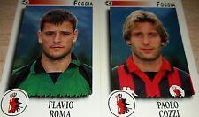 FIGURINA CALCIATORI PANINI 1997/98 FOGGIA 466 ALBUM 1998
