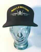 Eagle Crest Navy NAS Lemoore Snapback Hat - Made in USA - Excellent Condition