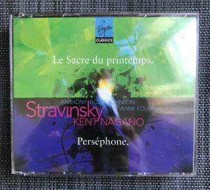 Stravinsky: The Rite of Spring; Persephone (CD, Jun-1996, Virgin)