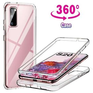 For Samsung Galaxy S7 S9 S10 PLUS A50 A90 Case Cover Clear Screen full Protector