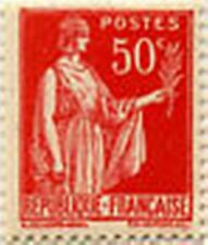 """FRANCE STAMP TIMBRE N° 283 """" TYPE PAIX 50 C ROSE ROUGE """" NEUF x TB"""