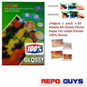 A4 Photo 100% Glossy Paper For Inkjet Printers 40 / 80 / 120 / 160 / 200 sheets
