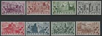 Portugal - 1946 - Scott # 662 thru 669 - Complete Set - Mint Very Light Hinge